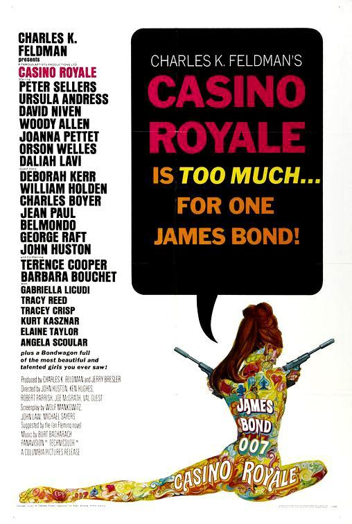 CASINO ROYALE (1967) [BLURAY 720P X264 MKV][AC3 5.1 CASTELLANO] torrent